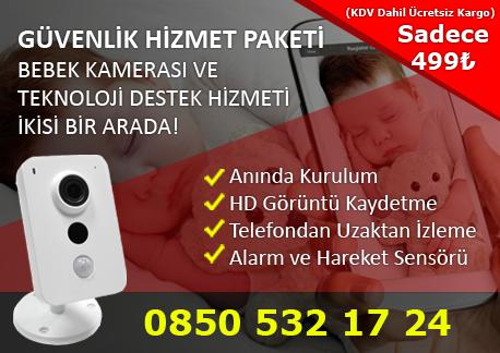 callfix kablosuz ip bebek kamerası