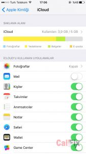 iPhone Rehber Yedekleme
